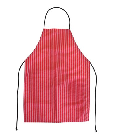 Aprons, PVC Coated Nylon, Red, W183