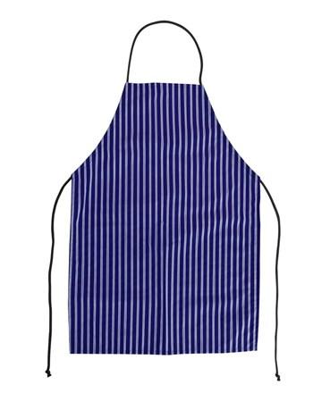 Aprons, PVC Coated Nylon, Blue, W183