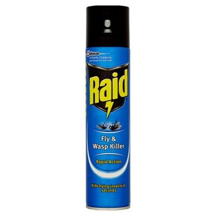 Insect Control, Fly & Wasp Killer, Raid, 300ml