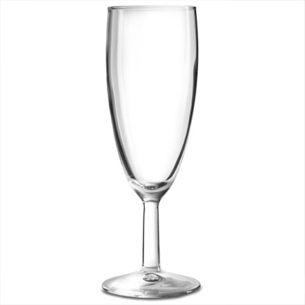 Glassware, Saxon, Champagne Flute, 125ml, 6oz, 48