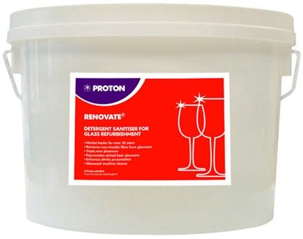 Bar Supp. Glass Soak, Rennovate, 5 Kg