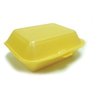 Catering, Tray, HP2, Burger & Fries, Gold, 185x133x75mm, 500