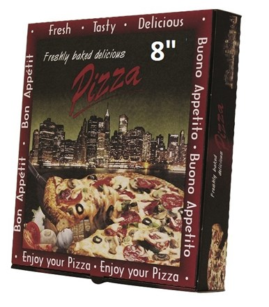 "Catering, Pizza Box, 8"", Manhattan, 100"