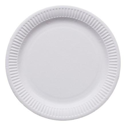 """Catering, Plates, 8"""", Plastic, 100"""