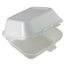 Catering, Tray, HP9, Burger & Fries, Wht., 163x102x83mm, 500