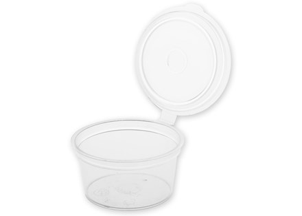 Catering, Taster Pots, 1oz, Clear, 80