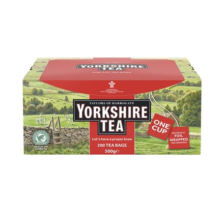 Hospitality, Tea Bags, Yorkshire Tea, Single Envelopes, 200