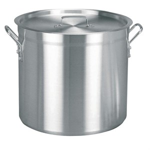 Cookware, Stock Pot, Vogue, Aluminium, 366(D)x370mm, 37.8Ltr