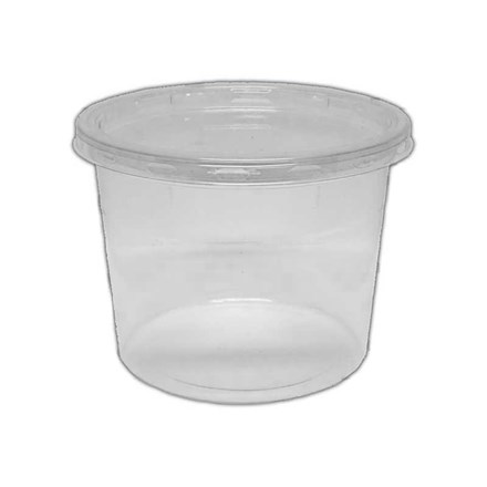 Catering, Deli Tubs & Lids Combo Pack, 12oz, 250