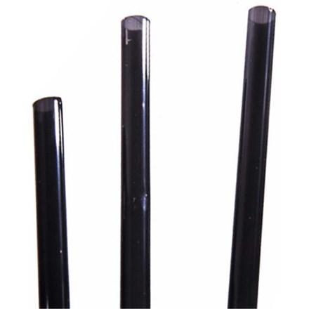 "Bar Supp. Straws, Bottle, Black, 28cm/11"", 250"
