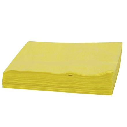 Cloths, Sponge Wipers, Yellow, 5 Cloths