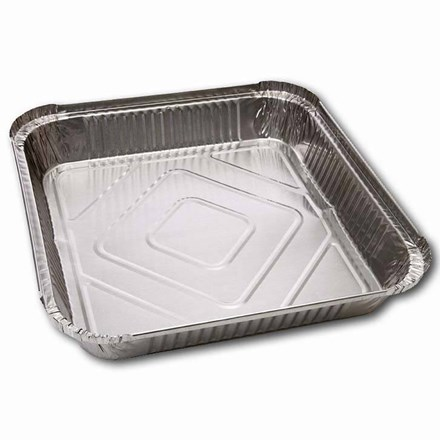 Catering, Foil Container, Square, No. 9, 200