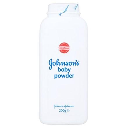 Talc. Baby Powder, Johnsons, 6 x 200g