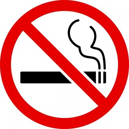 Sign, No Smoking, Symbol, Self Adhesive