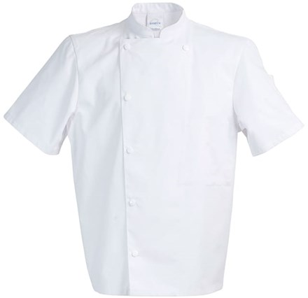 Catering, Wear, Chef Jacket, Chicago, S. Sleeve,  XXL