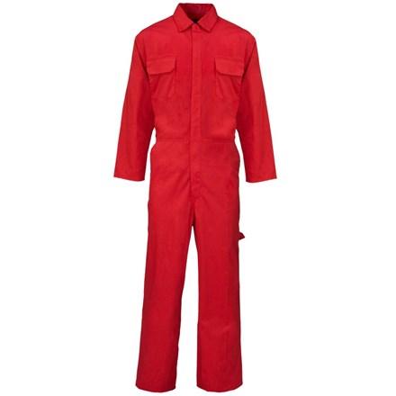 Overalls, Polycotton, Red, Medium