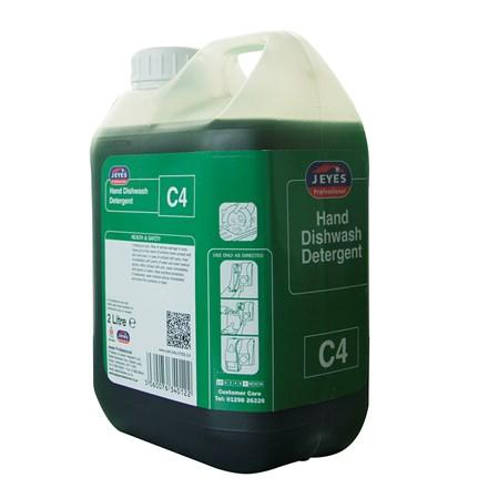 Detergent, Jeyes, C4, Dishwash, Conc. 2x2 Ltr