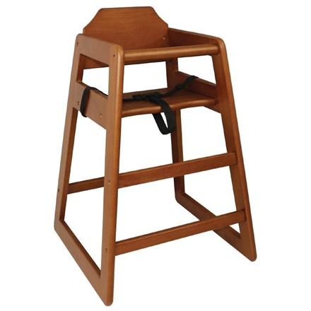 High Chair, Bolero, Dark Wood