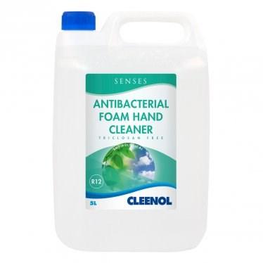 Soap, Hand, Cleenol, Senses, Antibacterial Foam, 5Ltr