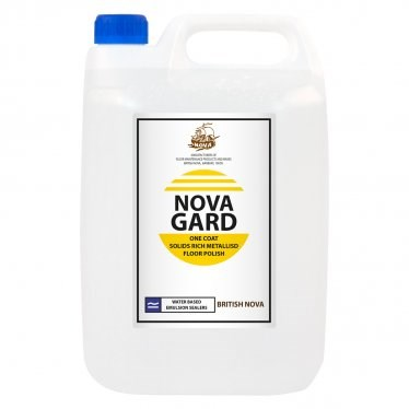 Floor Polish, Novagard, Extra High Solids Emulsion, 5Ltr