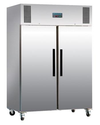 Freezer, Polar, Double Door, 1200Ltr, S/S