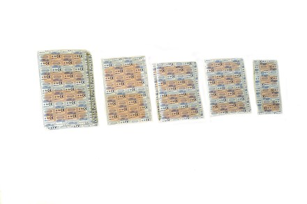First Aid, Plasters, Washproof, Assorted 100