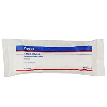 First Aid, Dressing, Propax Sterile Unmedicated, 18x18 cm