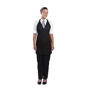 Catering Wear, Apron, Tuxedo, Black