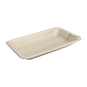 Fiesta Palm Leaf Deep Plate Rectangle 250mm, 100