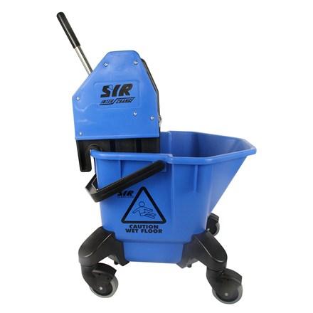 Bucket, Mop/Wringer Unit, SYR TC20, 20Ltr, Blue