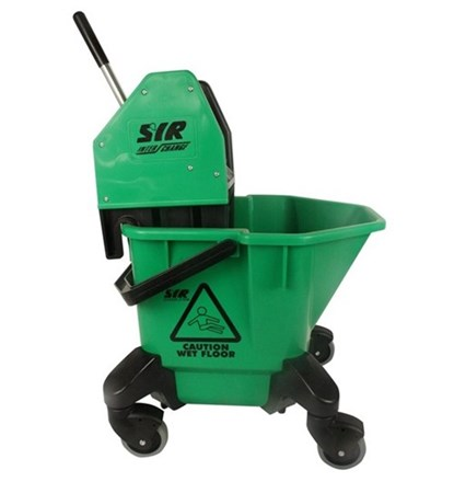 Bucket, Mop/Wringer Unit, SYR TC20, 20Ltr, Green
