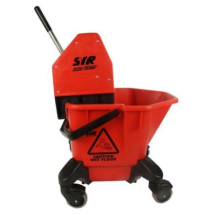 Bucket, Mop/Wringer Unit, SYR TC20, 20 Litre, Red