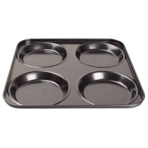 Kitchenware, Yorkshire Pudding Tray, Non-Stick, 4 Pud