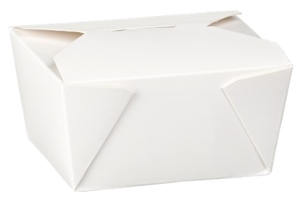 Catering, Food Box, Dispopak No. 1, White, 450