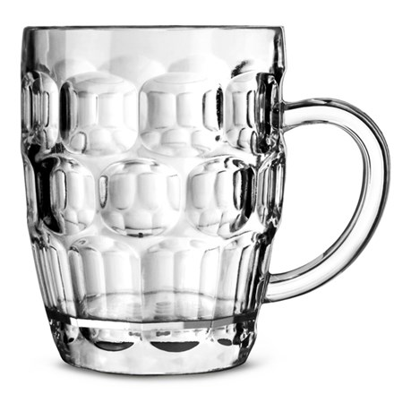 Glassware, Tankard, Dimple, Half Pint, GS 10oz, 36