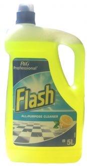 All Purpose Cleaner, Flash, Lemon, 5Ltr
