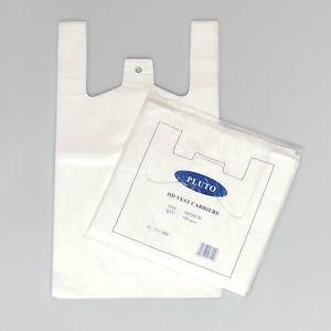 Bags, Carrier, White, Pluto, 10x15x18, 2000