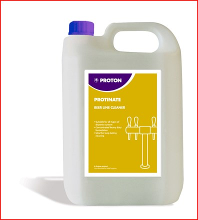 Bar Supp. Beer Line Cleaner, Protinate, 5Ltr