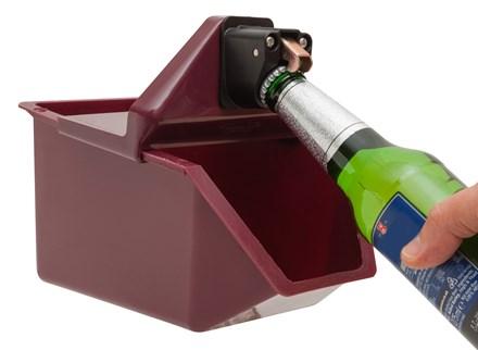 Bottle Opener & Cap Catcher