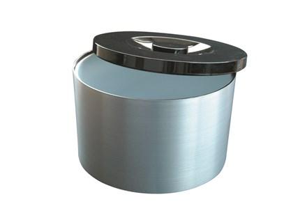 Ice Bucket, Plastic, Silver, 10Ltr/17.6pt