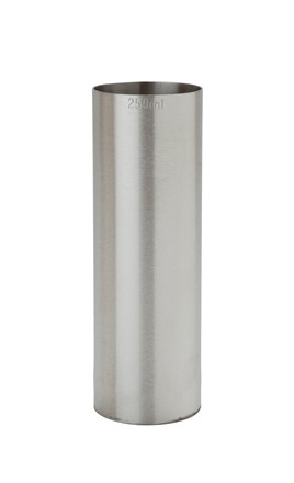 Thimble Measure, 250ml, S/S, CE