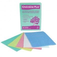 Cloths, Envirolite Plus, Z Cloth, Blue, Large, 50