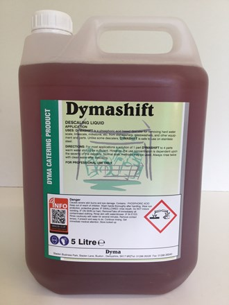 Descaler, Dishwasher, Dymashift, 5Ltr