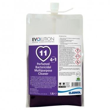Multi-Purpose Cleaner, Cleenol, Bactericidal, EV11, 2x1.5Ltr
