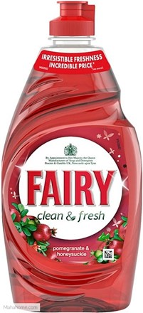 Washing Up Liquid, Fairy, Pomegranite, 433ml