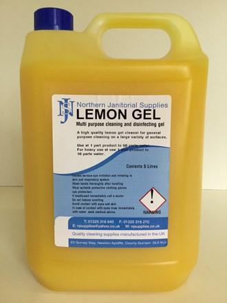 Floor, Gel, Lemon, NJS, 5Ltr