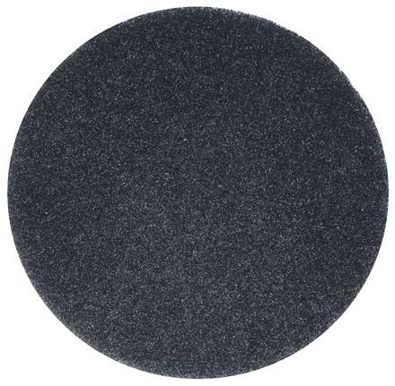 "Floor Pads, British Nova, Black, 18"", (457mm), 5 Pads"