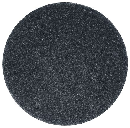 "Floor Pads, British Nova, Black, 21"", (533mm), 5 Pads"