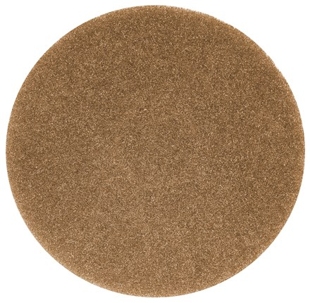 "Floor Pads, British Nova, Brown, 14"", (356mm), 5 Pads"