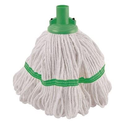 Mop Heads, Hygiemix Socket, Green, 200g